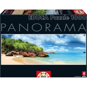 Educa Educa 1000 db-os Szuper Panoráma puzzle - Mahe-sziget - Seychelle-szigetek (15995)