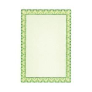 APLI Oklevélpapír, A4, 115 g, APLI, smaragdzöld (10lap