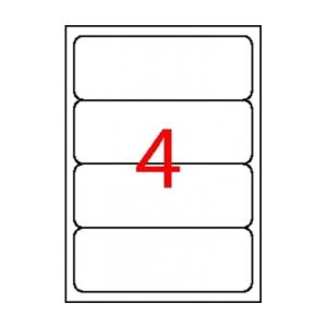 APLI etikett univerzális 190x61 mm 40 APLI etiket