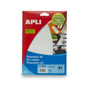 APLI Etikett, 45x8 mm, eltávolítható, ékszerekhez, A5