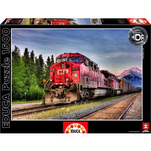 Educa Educa 1500 db-os HDR puzzle - Pacific train - Kanada (15546)