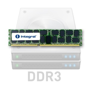 Integral DDR3 ECC REGISTERED Integral 8GB 1333MHz CL9 1.5V R2