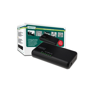 Digitus Fast Ethernet N-Way 5-portos switch
