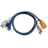 ATEN KVM Cable (HD15-SVGA  USB  USB  Audio) - 3m