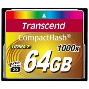 Transcend Compact Flash 64GB 1000x memóriakártya