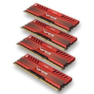 Patriot ViperX 3RD 4x4GB DDR3 1866MHz CL10 1.5V XMP 1.3 Quad Channel Red