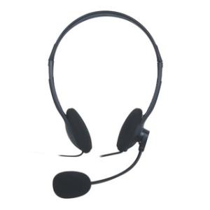 Vakoss mikrofonos sztereó fejhallgató