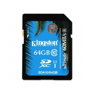 Kingston SDHC 64GB SDXC Class 10 UHS-I Ultimate memóriakártya