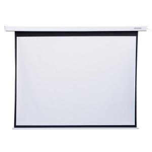 4world Elektromos vetítővászon távirányító 145x110 (4:3) fehér matt