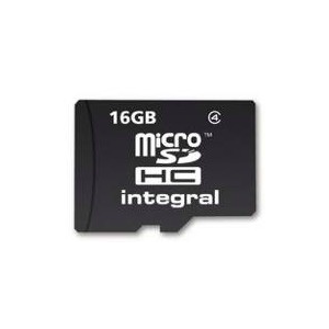 Integral MICRO SDHC 16GB CLASS4 - WITHOUT SD ADAPTER