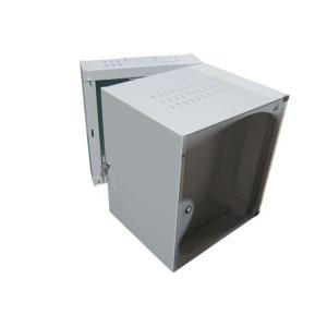 Apra -optinet ecoVARAnd PLUS fali szekrény 19\'\' 9U/600mm kétszekciós üveg a.