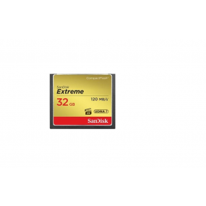 Sandisk Compact Flash Extreme 32GB UDMA7 (transfer 120MB/s)