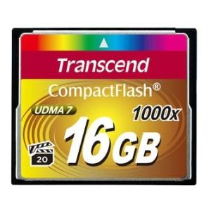 Transcend Compact Flash 16GB 1000x memóriakártya