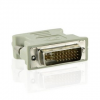 4world Adapter DVI-I - VGA (24M/15F)