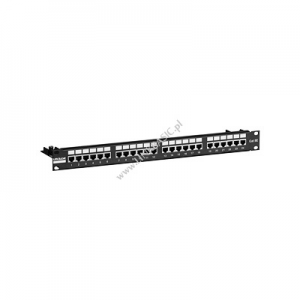 Linkbasic Linkpasic UTP patchpanel cat.5e 24-port kábelrendezővel