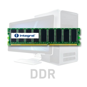 Integral 1GB DDR-400 ECC DIMM CL3 R2 UNBUFFERED 2.5V
