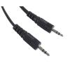 Gembird audio kábel Jack 3.5mm apa / Jack 3.5mm apa  5m audió/videó kellék, kábel és adapter