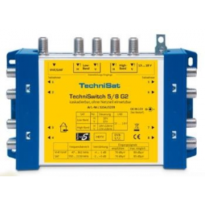 Technisat Multi-switch 5/8 G2 DC-NT With Power Supply Unit