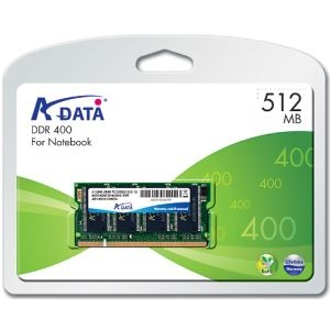 ADATA DDR SODIMM Adata 512MB 400MHz CL3