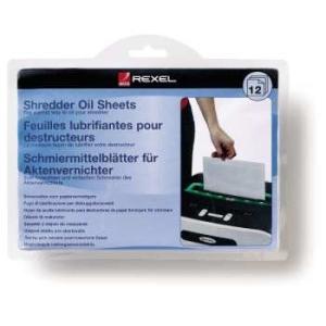 REXEL olajozó lapok (12 darab)