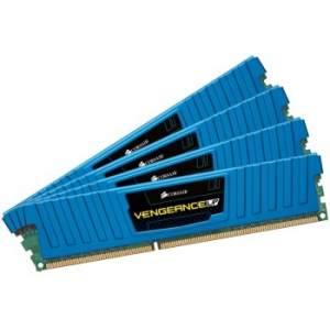 Corsair DDR3 Corsair Vengeance Low Profile Blue 32GB (4x8GB) 1600MHz CL10