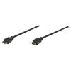 MANHATTAN monitor kábel  HDMI/HDMI 1.3  3m  árnyékolt  fekete