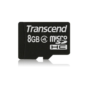 Transcend Micro SDHC 8GB Class 4 memóriakártya