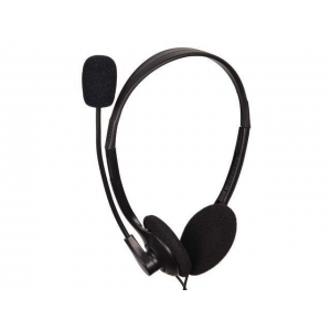 Gembird microphone & stereo headphones MHS-123 with volume control  black color