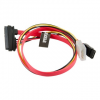 4world HDD Power Cable | SATA 3 | SATA | 45cm | data transfer | red