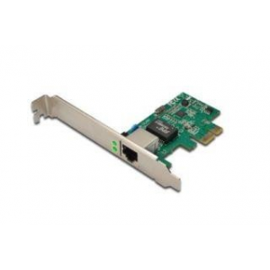 Digitus Gigabit Ethernet PCI Express network card kártya adapter 32-bites