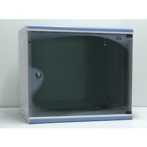 Apra NET decoVARAnd fali szekrény  19\'\'9U/450mm  egyszekciós  üveg a.  lev. old.