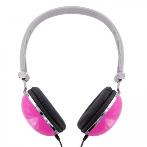 4world Stereo headset with comfortable ear cushions \'\'Colors\'\' pink