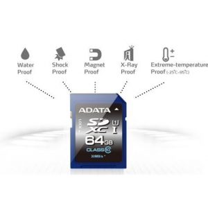 ADATA Premier Pro SDXC UHS-I U1 64GB (Video Full HD) Retail