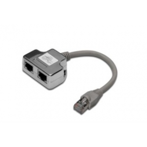 Digitus CAT 5e Class D RJ45 patch kábel adapter árnyékolt