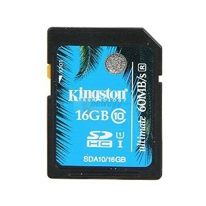 Kingston SDHC 16GB SDHC Class 10 UHS-I Ultimate memóriakártya