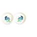 Trixie Tál kerámia dupla macskának 2x0,15l/11cm fehér