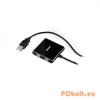Hama BusPower USB2.0 Hub 4port Black