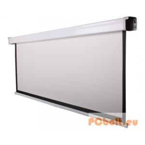 Funscreen Matt White Motor 106x170 cm Format: 16:10 fehér acél tokkal