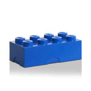 LEGO uzsonnás doboz - 4x2 kék