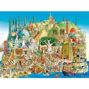 Heye puzzle 1500 db - Global City Prades