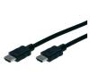 Digitus HDMI TV, Monitor csatlakozókábel 1x - 1x 10 m Fekete Digitus audió/videó kellék, kábel és adapter