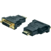 Digitus HDMI / DVI TV, Monitor Adapter 1x - 1x Fekete Digitus