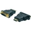 Digitus HDMI / DVI TV, Monitor Adapter 1x - 1x Fekete Digitus