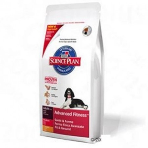 Hills Hill's SP Canine Adult Advanced Fitness™ Medium Chicken 12 kg