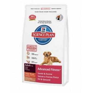 Hills Hill's SP Canine Adult Advanced Fitness™ Large Lamb & Rice 12 kg