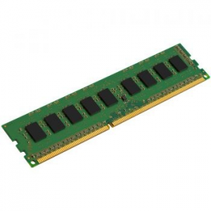 Kingston 2GB memória, DDR3, 1333MHz, Non-ECC, CL9, 1.5V (KVR13N9S6/2)