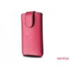 Redpoint Galaxy S2 méretű slim bőr tok, Pink