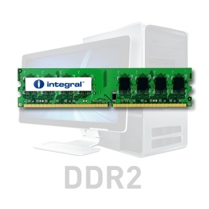 Integral 2GB DDR2-667 ECC DIMM  CL5 R2 UNBUFFERED  1.8V