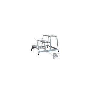 KRAUSE fix szerelődobogó alumíniumból - 2 fokos
