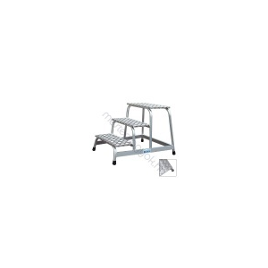 KRAUSE fix szerelődobogó alumíniumból - 4 fokos
